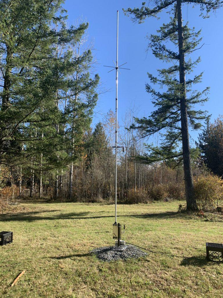 Hustler 4btv Veritcal Antenna
